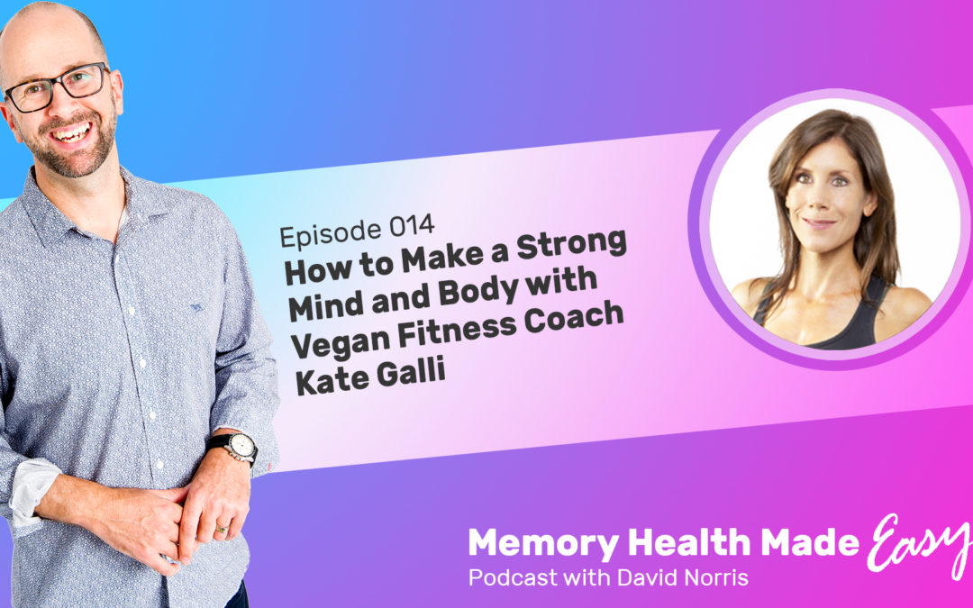 Podcast Ep 014: How to Make a Strong Mind and Body with Vegan Fitness Coach Kate Galli